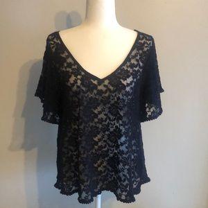 Adorable lace shirt
